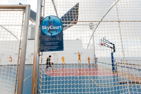 SkyCourt on Carnival Magic