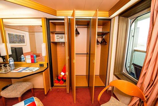 The Premium Vista Balcony Cabin on Carnival Victory