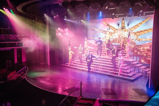 Livin' In America Show on Carnival Victory