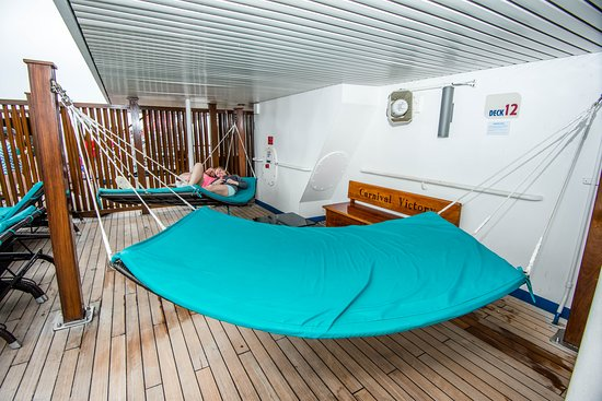 The Serenity Adult Retreat on Carnival Victory