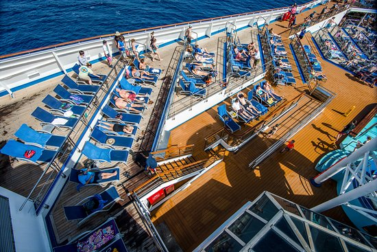 The Sun Decks on Carnival Victory