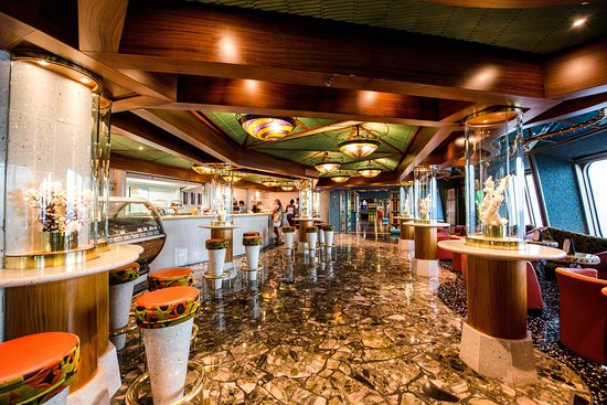 Coral Seas Cafe on Carnival Victory