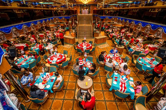 Green Eggs and Ham Breakfast on Carnival Victory