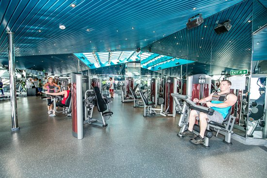 Fitness Center on Carnival Victory