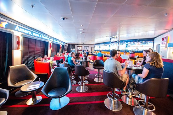 Sky Box Sports Bar on Carnival Victory
