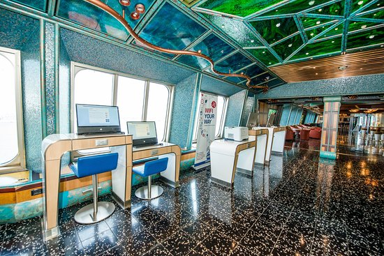 Internet Cafe on Carnival Victory