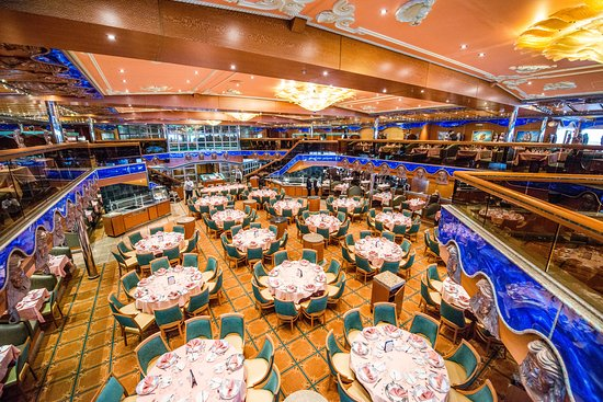 Pacific Dining Room on Carnival Victory