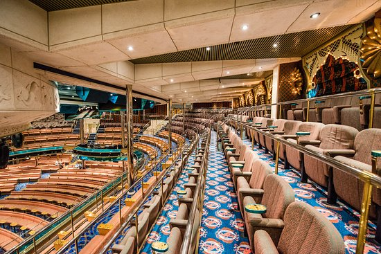 Caribbean Lounge on Carnival Victory