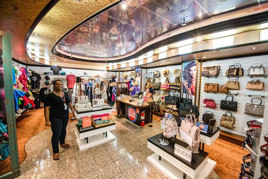 The Fun Shops on Carnival Victory