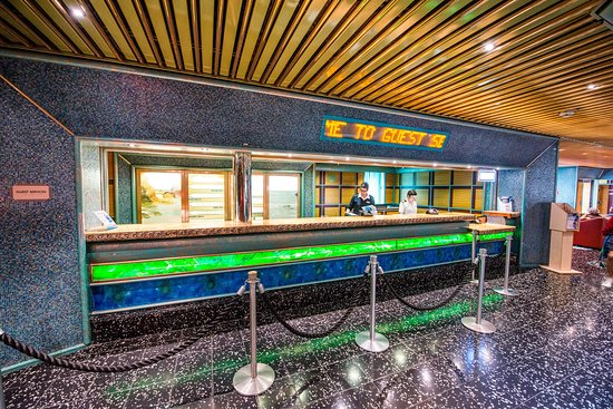 Guest Services on Carnival Victory