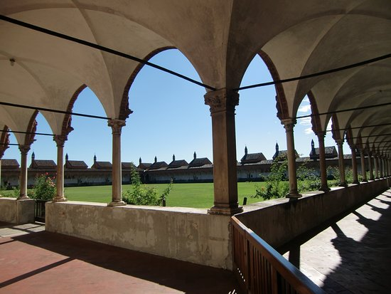 Certosa di Pavia, Ιταλία: Il Chiostro