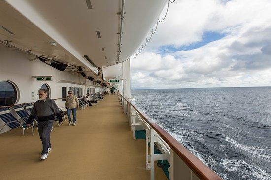 Promenade Deck on Radiance of the Seas