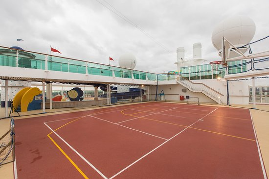 Sports Court on Radiance of the Seas