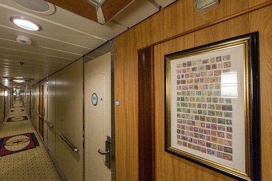 Hallways on Radiance of the Seas