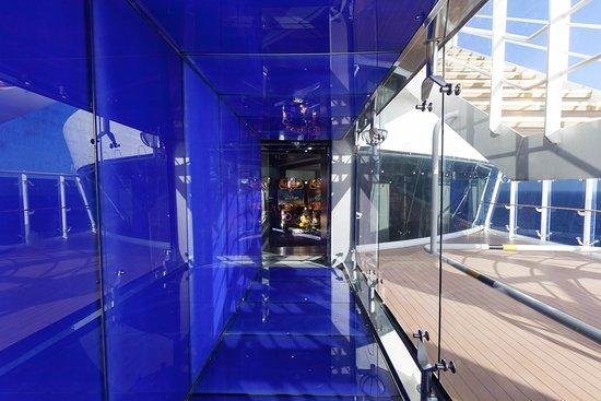 Formula 1 Simulator on MSC Divina
