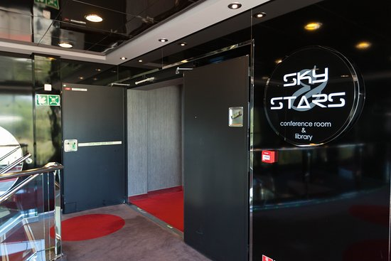 Sky & Stars Conference Room and Library on MSC Divina