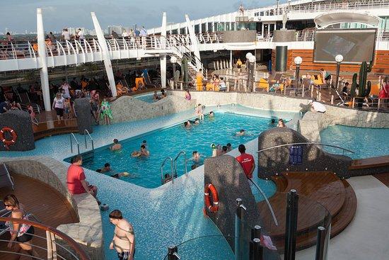 The Aqua Park on MSC Divina