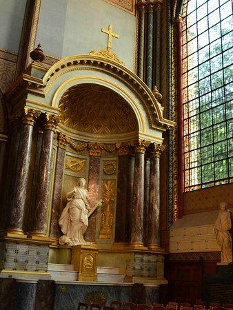 Церковь Сен-Жермен-де-Пре. Алтарь святой Магдалины