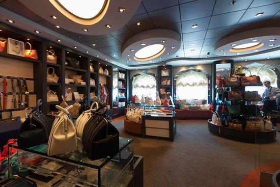 MSC Divina: Boutique on MSC Divina
