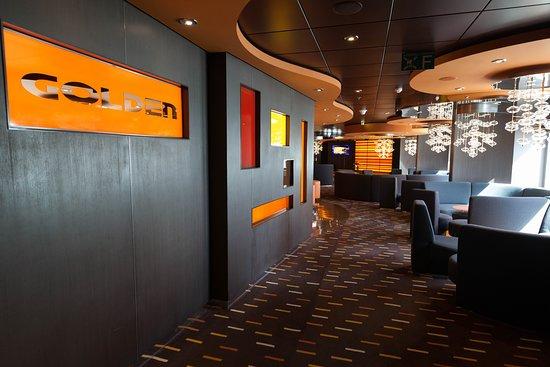 Golden Jazz Bar on MSC Divina