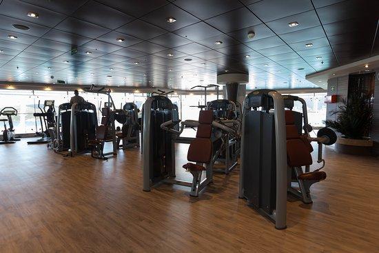 Fitness Center on MSC Divina