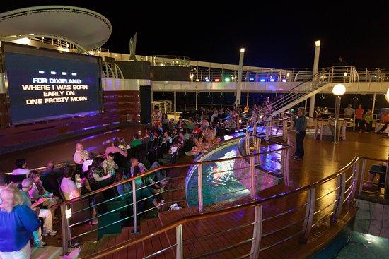 Pool Deck Activities on MSC Divina