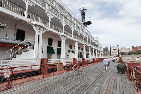 Boarding Area on American Queen