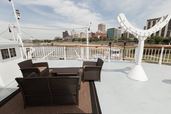 The Bow Luxury Suite with Open Balcony on American Queen