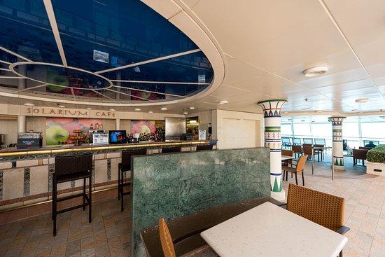 Solarium Cafe on Rhapsody of the Seas
