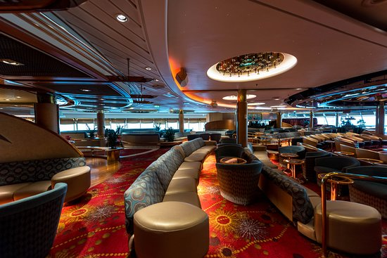 Rhapsody of the Seas: Shall We Dance Lounge on Rhapsody of the Seas