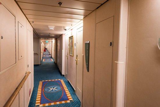 Rhapsody of the Seas: Hallways on Rhapsody of the Seas