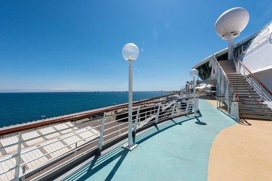 The Sun Decks on Rhapsody of the Seas