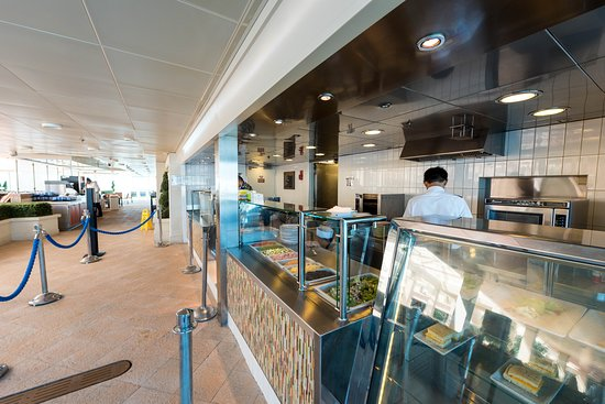 Park Cafe on Rhapsody of the Seas