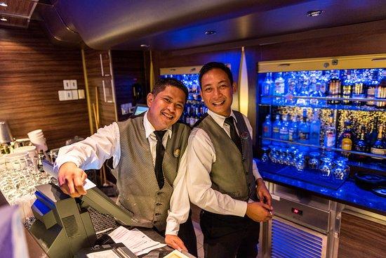 Rhapsody of the Seas: Viking Crown Lounge on Rhapsody of the Seas