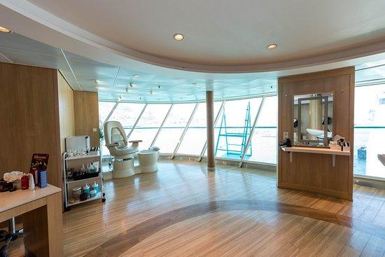 Beauty Salon on Rhapsody of the Seas