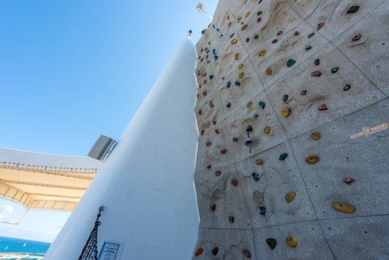 Rhapsody of the Seas: Rock Climbing Wall on Rhapsody of the Seas
