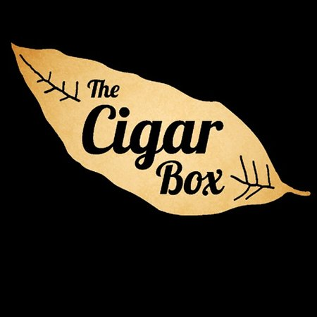 Our logo for the Cigar Box come and enjoy a cigar and a great craft beer.