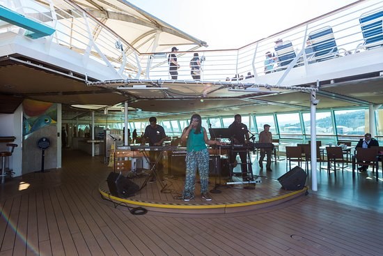 Sailaway Party on Rhapsody of the Seas