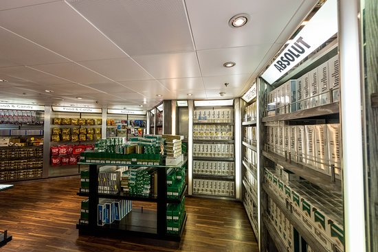 Port Merchants Duty Free on Rhapsody of the Seas