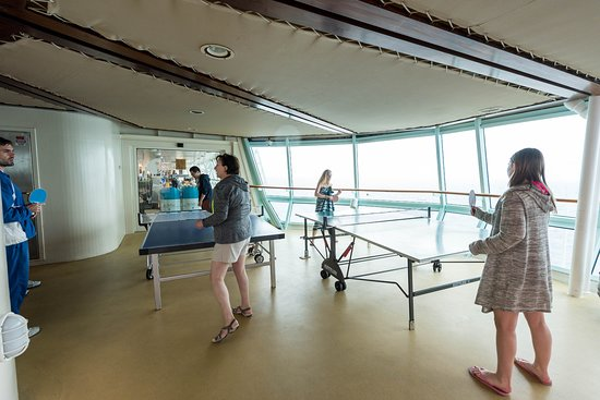 Table Tennis on Rhapsody of the Seas