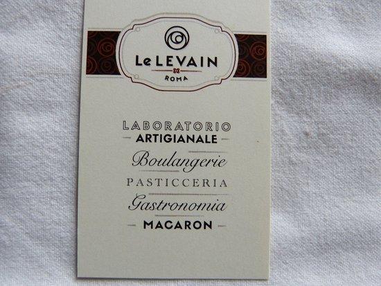 Carte Boulangerie.Carte De La Boulangerie Picture Of Le Levain Roma Rome Tripadvisor