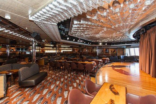 Eagles Aft Lounge on Carnival Valor