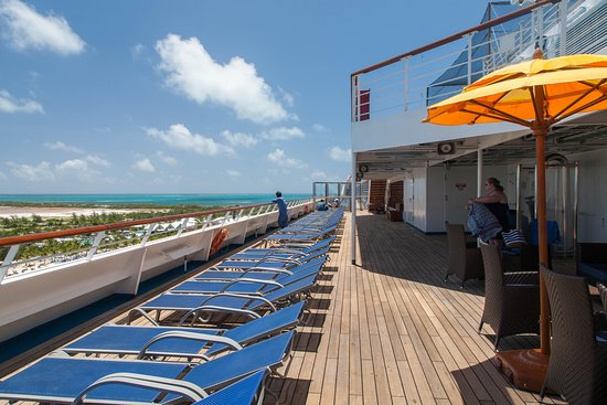 Exterior Deck 10 on Carnival Valor