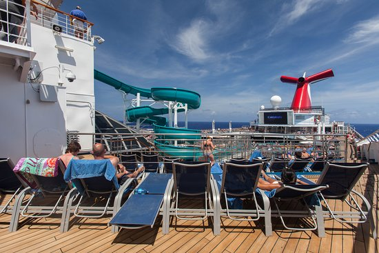 The Twister Waterslide on Carnival Valor