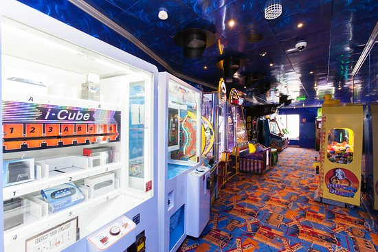 Caboose Video Arcade on Carnival Valor