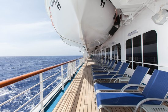 Exterior Deck 3 on Carnival Valor