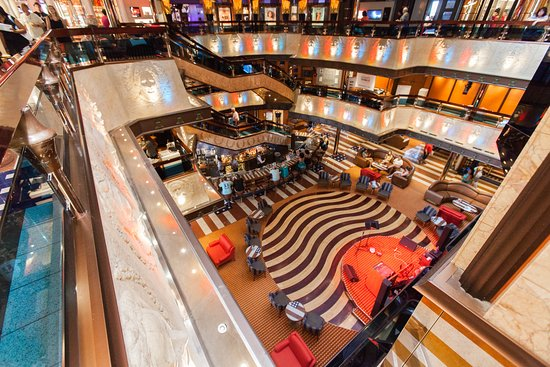 American Atrium on Carnival Valor