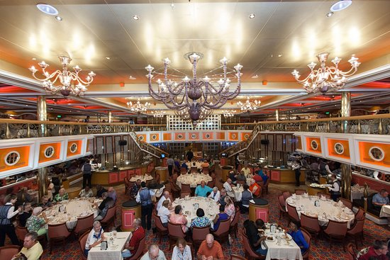 Washington Dining Room on Carnival Valor