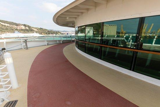 Jogging Track on Jewel of the Seas