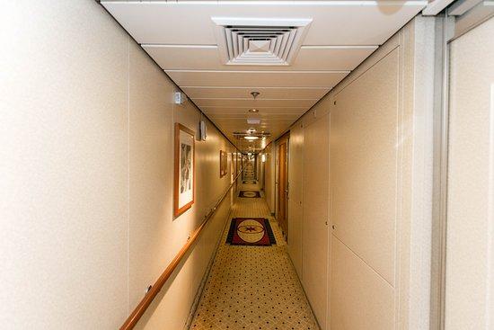 Hallways on Jewel of the Seas